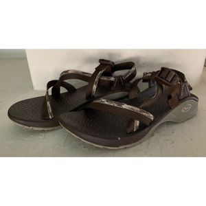 CHACO BROWN SHOES WOMENS SANDALS SZ 10